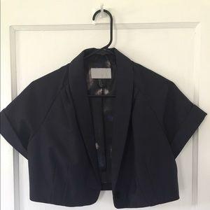 Cropped bolero jacket